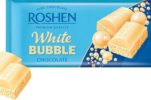 ROSHEN White BUBBLE CHOCOLATE 80 G