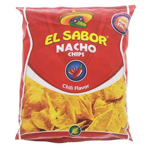 EL SABOR NACHO CHIPS Chili Flavor 225g