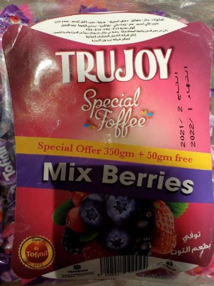 TRUJOY Toffee MIX Berries