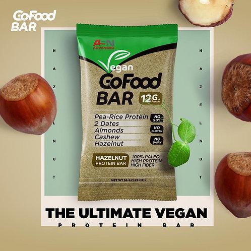 ASN Vegan Go Food BAR HAZELNUT PROTEIN BAR 56 G