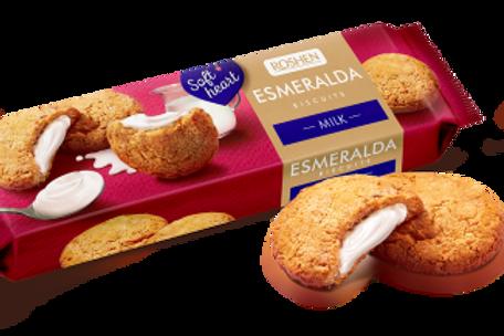 roshen esmeralda biscuits milk