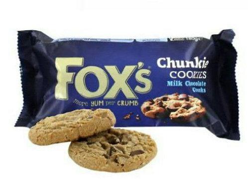 Fox milk chocolate cookies