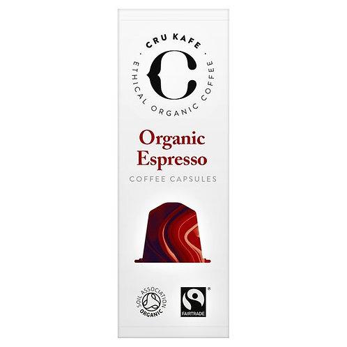 CRU KAFE Organic Espresso 52 g