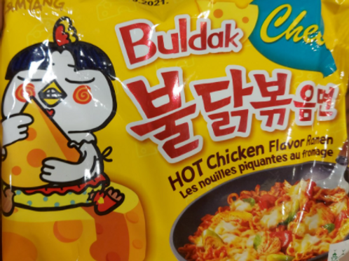 BULDAK CURRY HOT CHIKEN FLAVOR AND CHEESE
