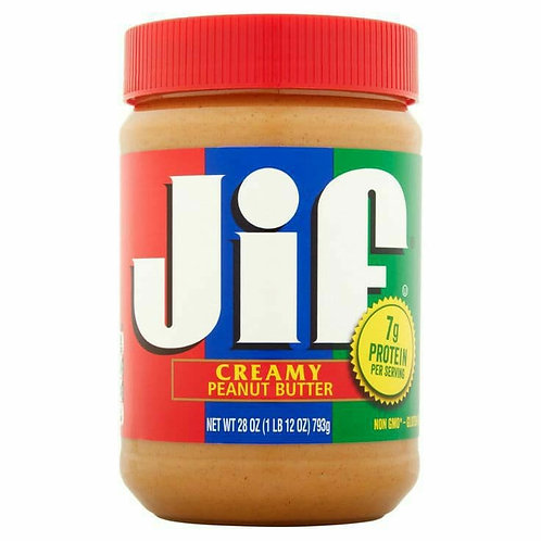 Jif creamy beanut putter