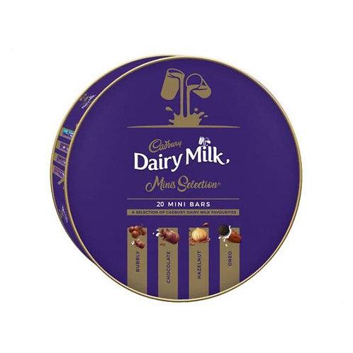Cadbury Dairy Milk Minis Selection 20 MINI BARS  250 G