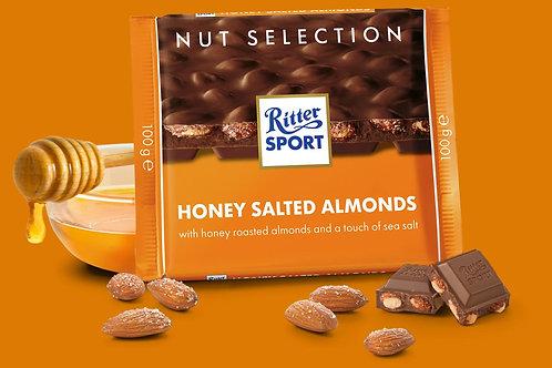 Ritter SPORT Honey Salt Almonds 100 g