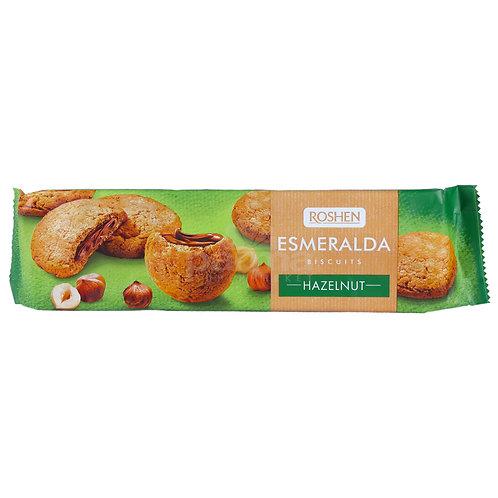 roshen esmeralda biscuits hazelnut