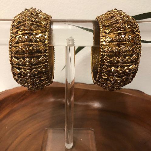 Pair of Golden Kangans