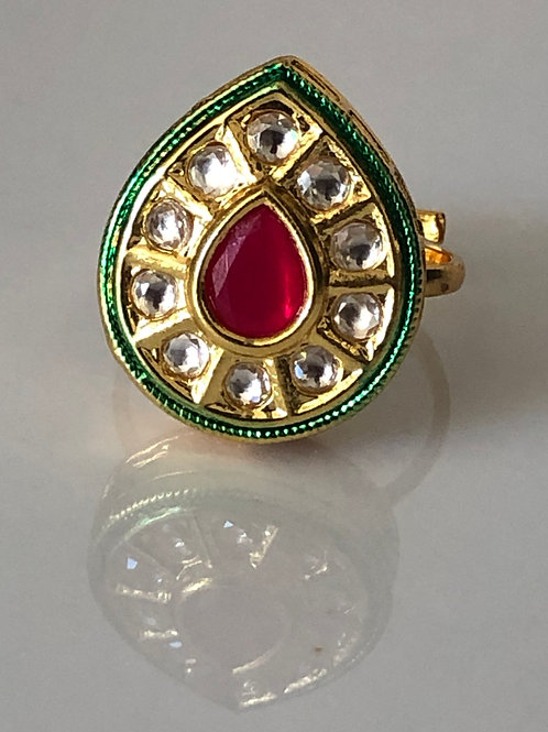 REGAL COLLECTION - Kundan Ring