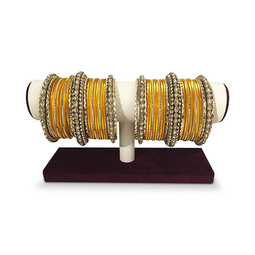 Exclusive Yellow Bangles (Full Set)