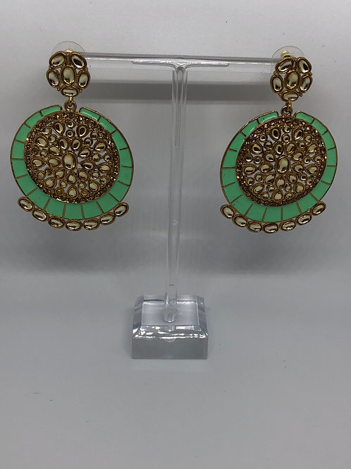 KAVYA Mint Earrings