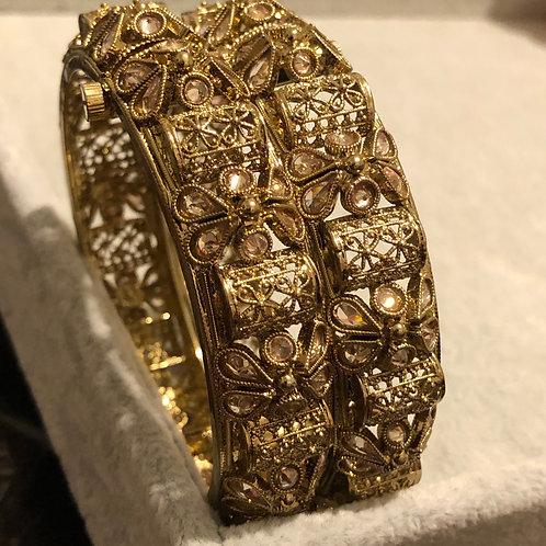 MEHAR Antique Gold Kangans