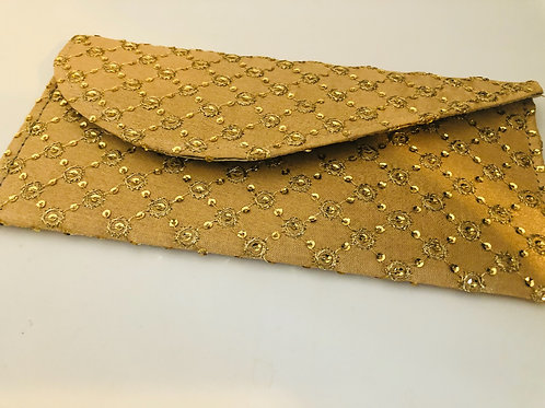 Golden Embroidery, Shagun Money Envelope