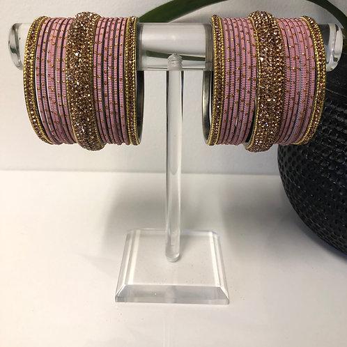 MISHKA Bangle Set - Pastel Purple