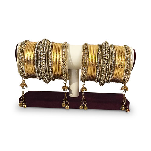 Gold Exclusive Bangles (Full Set)