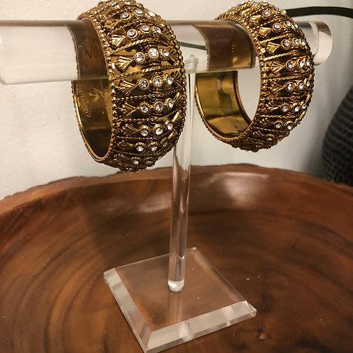 Pair of Antique Gold Kangans