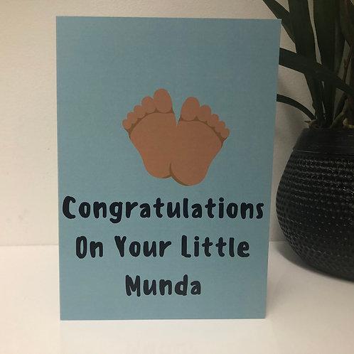 Congratulations on Your Little Munda