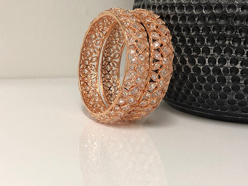 PAKHI Rose Gold Kangans