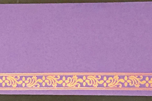 Purple Shagun Money Envelope