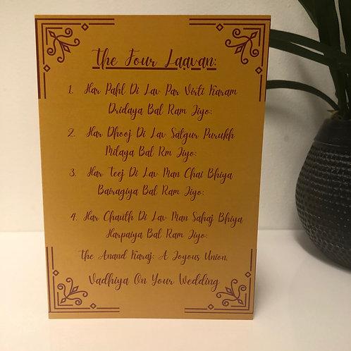 Wedding / Viaah Greeting Card