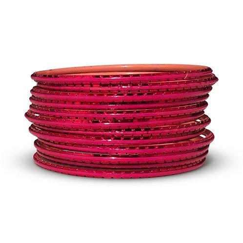 36 Gajri Pink Indo-Western Bangles