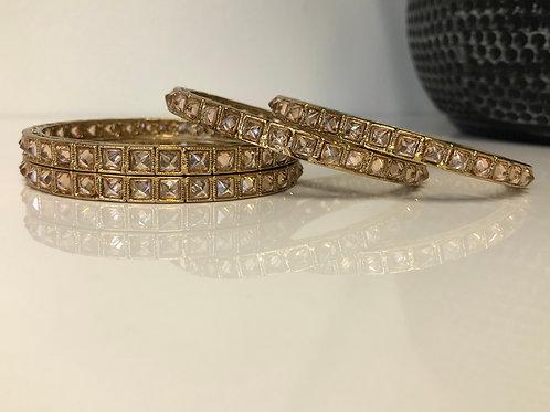 ALINA Antique Gold Kangans