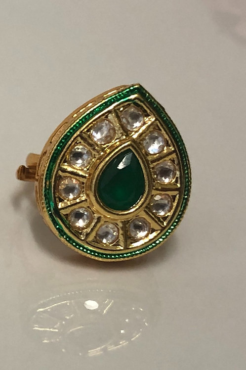 REGAL COLLECTION - Kundan Ring