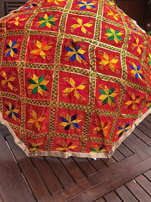 KHUSHI Jaggo PHULKARI Festive Umbrella