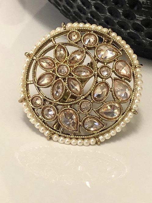 GOLD Large Polki Ring