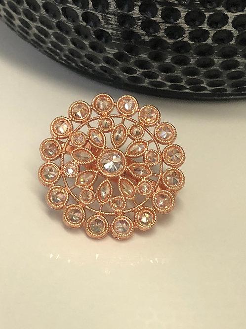Rose Gold AD Ring (Adjustable)