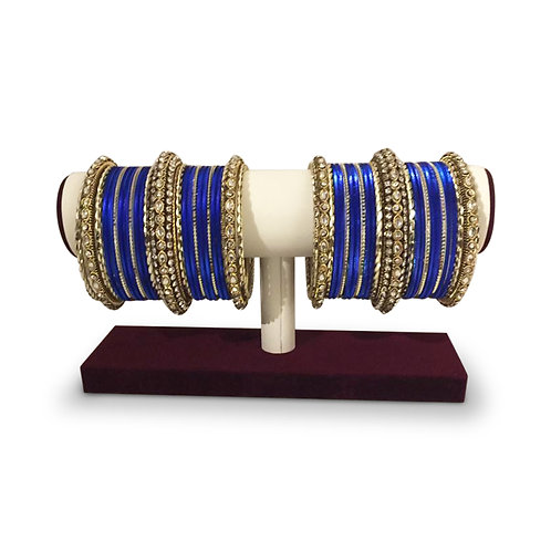 Exclusive Royal Blue Bangles (Full Set)