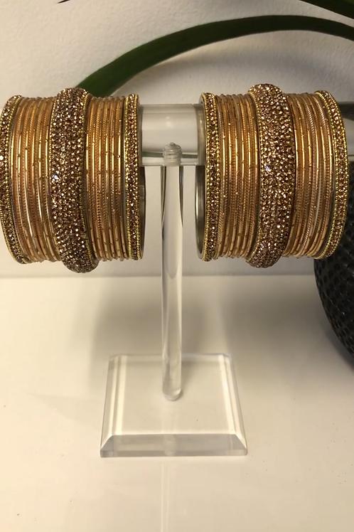 MISHKA Bangle Set - Golden