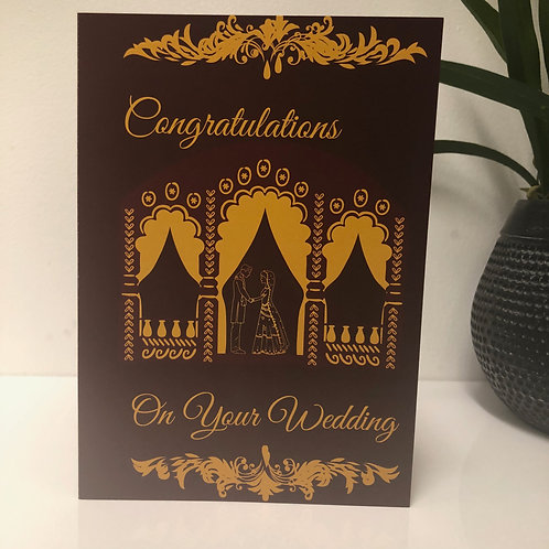 Viaah / Shaadi - Wedding Greeting Card