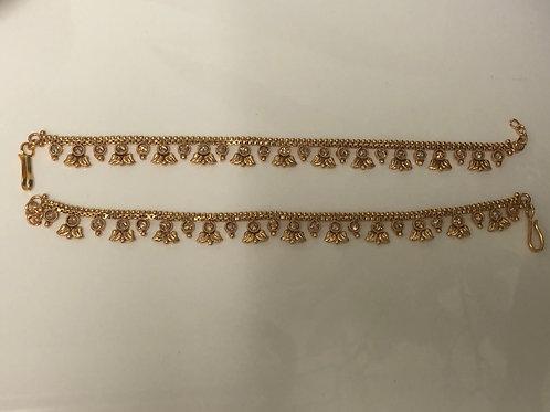 SABYA Gold Plated Anklets / Payal