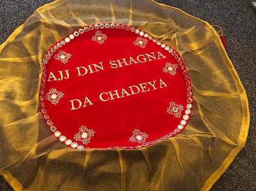 "Marriage Accessories - ""Ajj Din Shagna Da Chadeya"" /  Shagun Potli Rumaal Pouch"
