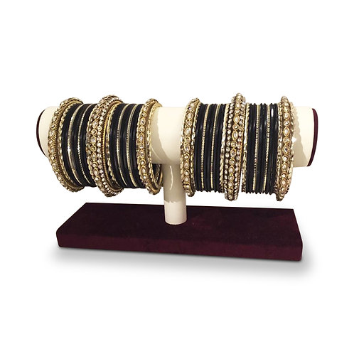 Exclusive Black Bangles (Full Set)