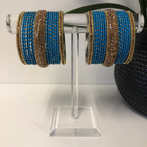 MISHKA Bangle Set - Turquoise