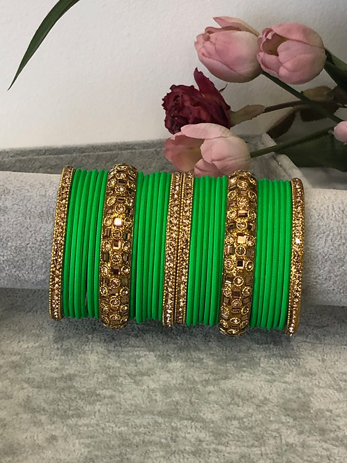 Lime - KASHISH BANGLE SET