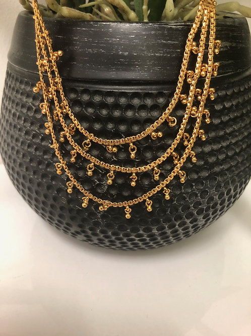 TANISHQ Gold Plated Sahare