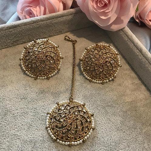 Golden Earring & Tikka Set