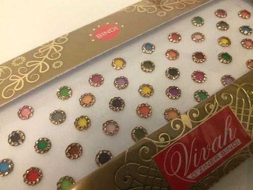 Large Designer Vivaah Bindi Pack