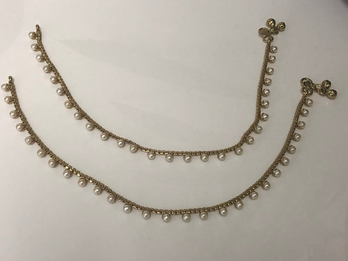 Pearl Anklets/Payal