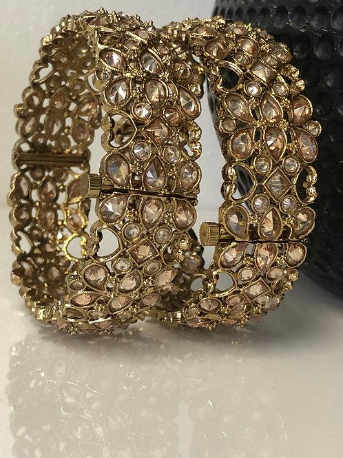CHAAYA Antique Gold Kangans