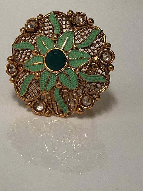 Parot Green Ring