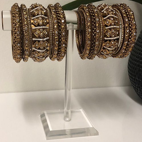 REGAL Polki Kangan Bangle Set