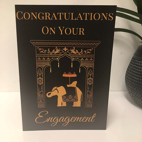 Congratulations on Your Engagement Greeting Card