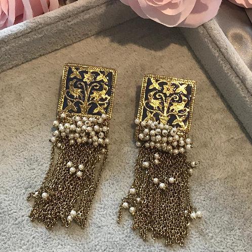JHANVI Polki Earrings