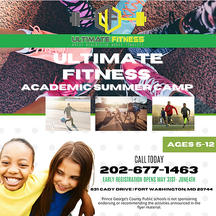 Ultimate Fitness Academic Summer Class (