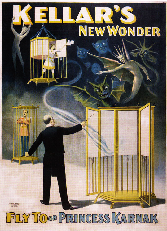 Kellar New Wonder Poster